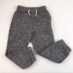 Gap Kids Dark Heather Grey Sweater Fleece Pants